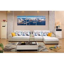 Living Room Furniture Set de 7 plazas para sofá