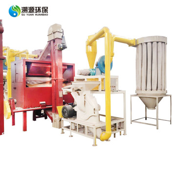 Waste aluminum foil packaging bag recycling equipment