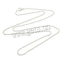 2016 Gets.com 1.5mm Sterling Silber Kugelkette Halskette