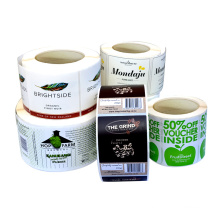 Custom Adhesive Waterproof Food Safety Sauce Printing Roll Label Sticker