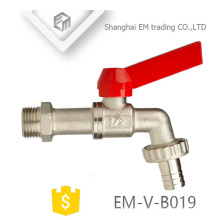 EM-V-B019 1/2 inch Nickel plated Brass outdoor tap