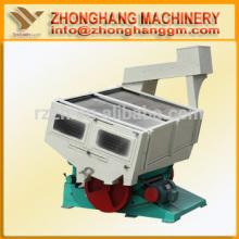 Máquina separadora de arroz en fábrica de molino de arroz con molinillo de arroz de gravedad