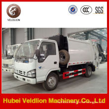 4X2 5m3 Garbage Trucks Compactor From Japan