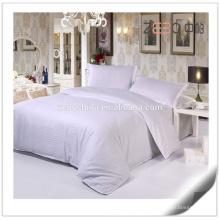 Direct Factroy Made Stripe Linen Wholesale 100% Cotton Hotel Bedding Set