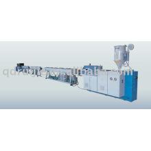 Extrusión de tubería de plástico de pared sólida de PA/PP que hace la maquinaria
