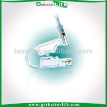 Auditivo desechable Piercing Kit de pistola con el perno prisionero de la oreja de oro