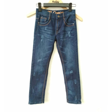 Groothandelsprijs Hand brushing Children`s Cotton Jeans