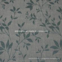 2016 Morden полиэстер Piece окрашенные льняные ткани, как занавес