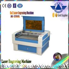 Máquina de corte laser venda quente JK-1290 da madeira compensada