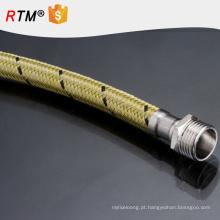 B17 aço inoxidável trançado de alta pressão mangueira de metal flexível