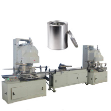 Automatic Round Cylinder Paint Tin Can Production Line