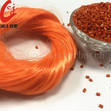 PET Fluoresen Orange Masterbatch Granule
