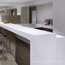 Modern fashion style curved reception desk,high end front desk
