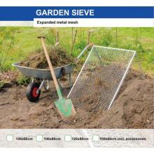 Gartensieb Metallgewebe