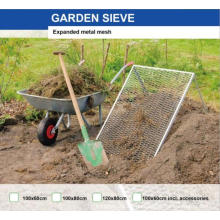 Malla de metal tamiz de jardin
