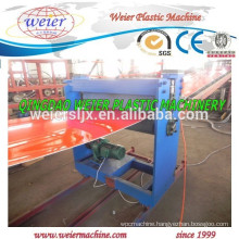 PP plastic sheet making extruder machine line