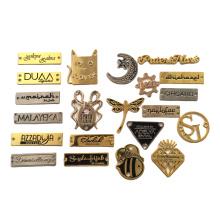 Factory High Quality Hardware Accessories For Handbags/Clothing Custom Metal Label Metal Brand Logo