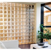 190*190*80  Clear and Colored glass block for Interior Decoration