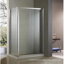 Slidng Shower Cabin Set with Side Panel Hb-Ss1380