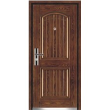 steel wood door