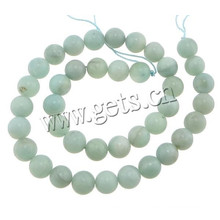2015 Gets.com Perles de pierres de pierre amazonite de 4 mm de diamètre