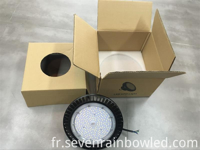 package of LED shoebox light
