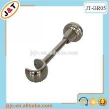 I shaped metal brackets for pipes, aluminium alloy brackets