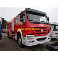 15m3 340hp HOWO Fire Fighting Trucks