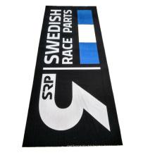 motorcycle parking mat rubber logo print mat