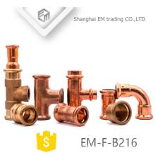 EM-F-B216 Accesorios de tubería de cobre del acondicionador de aire