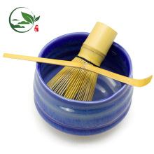 Hecho a mano Matcha Whisk Chasen Shuhui Gold Bamboo