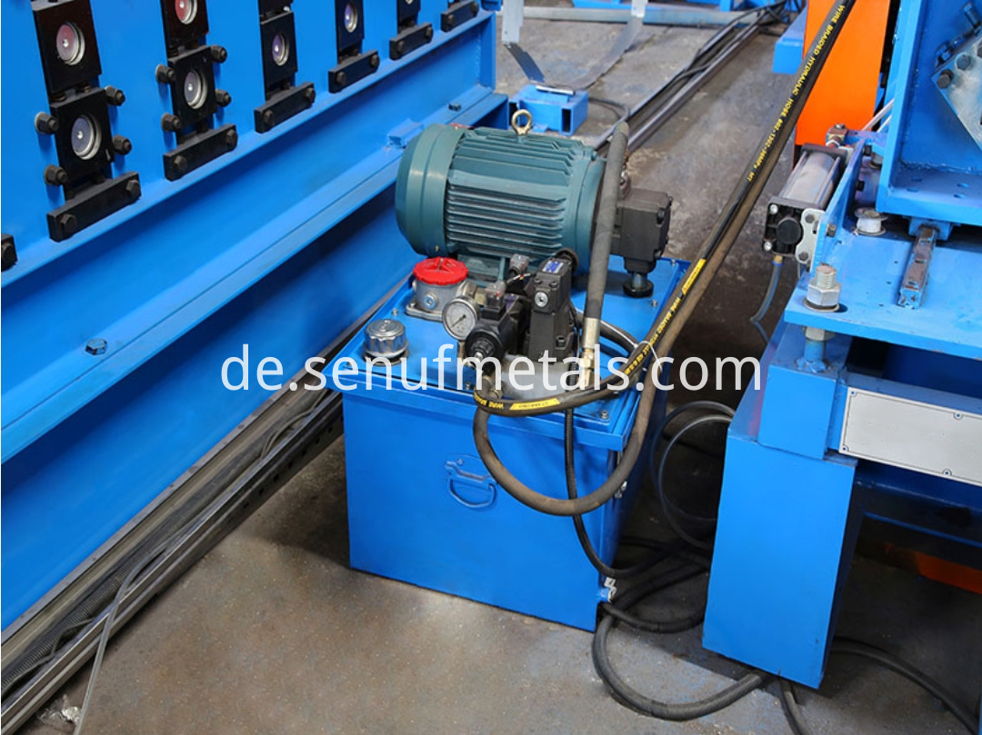 storage rack hydraulic station