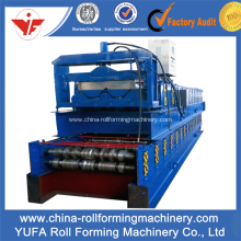 YF76-344-688 Floor Tile Step Roll Forming Machine