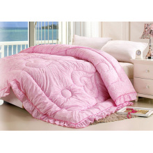 Bright Color 100% Polyester Bed Quilt F1874