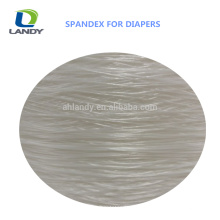 Best Price Baby Diaper Material Spandex Bare Yarn Spandex For Diaper Polyester Spandex Yarn
