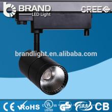 Directamente vendas CE ROHS alumínio Ip44 30w COB LED Track Light