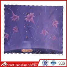 Изготовление OEM Microfiber Линзы для очистки ткани