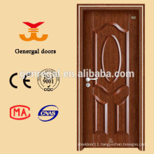 Latest design internal seamless metal doors