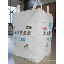 Tubular Cross Corner PP Big Bag with Filler Cover
