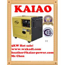 ¡Gran venta! Vlais Kde6500t generador diesel estupendo estupendo de 5kw