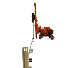 Steel Beam Driver Track Crawler Hammer Pile Driving
