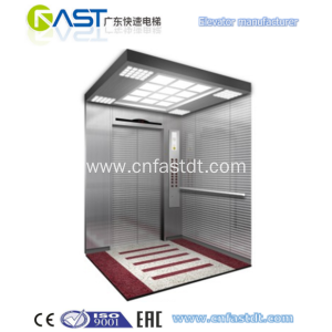 CE Small single one man person lift elevator in house