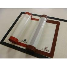 Esteira de silicone de alta resistência à temperatura para assar