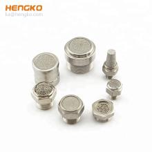Sintered Stainless Steel Brass Bronze Ventilation Regulative Air Pneumatic Muffler
