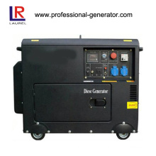 Silent Diesel Generator 5.5kw Electric / Recoil Start