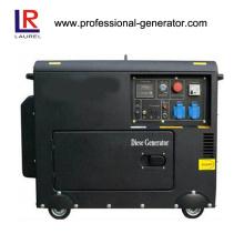 Gerador de diesel silencioso 5.5kw Electric / Recoil Start