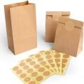 Подгонянный мешок собачки напитка забирает мешок еды мешок одноразовый крафт бумажный