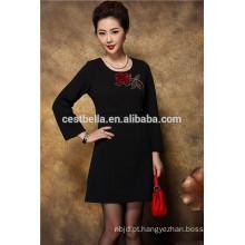 De alta qualidade Chic Women casual Trench Coat longo vestuário clássico roupas soltas