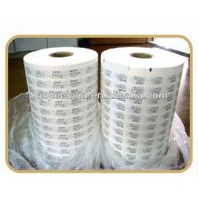 papier couché médical pour l'emballage de fournitures médicales