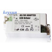 10W 12V / 24V AC-DC Voltagem constante LED Alimentação